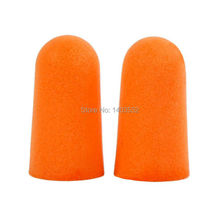 10Pairs Authentic Foam Soft corded Ear Plugs Noise sleep Reduction Norope Earplugs Swimming Protective earmuffs Free Shipping cheap CF-1100A ChinFine Orange Slow Rebound Foam (Polyurethane) 29 db 31 db