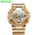 2017 Deportes Para Hombre Relojes Deporte Reloj reloj A Prueba de Choques Electrónica Reloj Digital de pulsera Relogio masculino Relojes de Doble Pantalla
