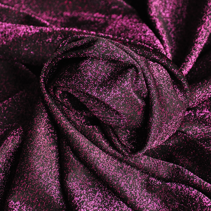 free ship pink and black weaved knitted jersey fabric heavy weight price for 1.5meters 160cm wide