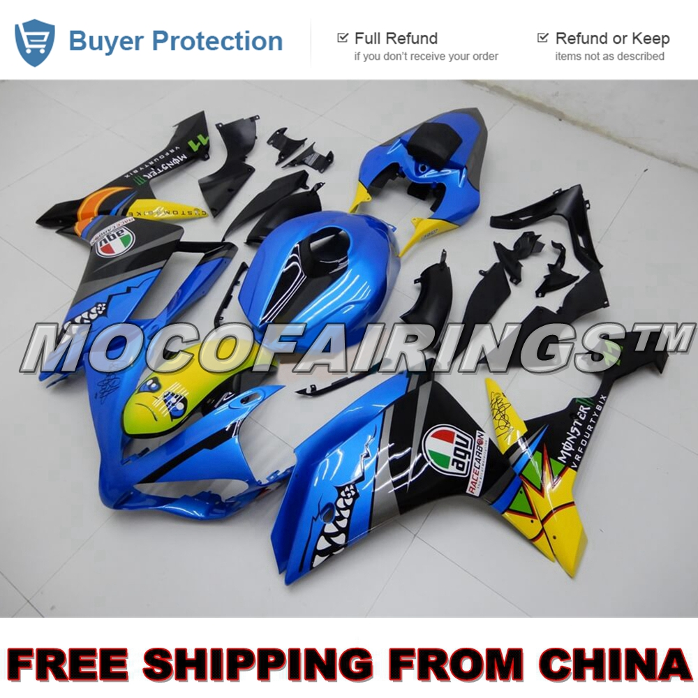 SHARK Custom Design ABS 100% Fitment Injection <font><b>Fairings</b></font> Kit For <font><b>Yamaha</b></font> YZF <font><b>R1</b></font> 2007 <font><b>2008</b></font> <font><b>Fairing</b></font> Kits image