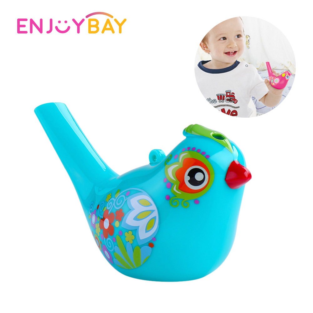 Enjoybay Bird Whistle Bath Toy Cartoon Music Instrument Toy Kids Funny Bath Water Toys Educational Gifts for Baby Boys Girls in Bath Toy from Toys Hobbies