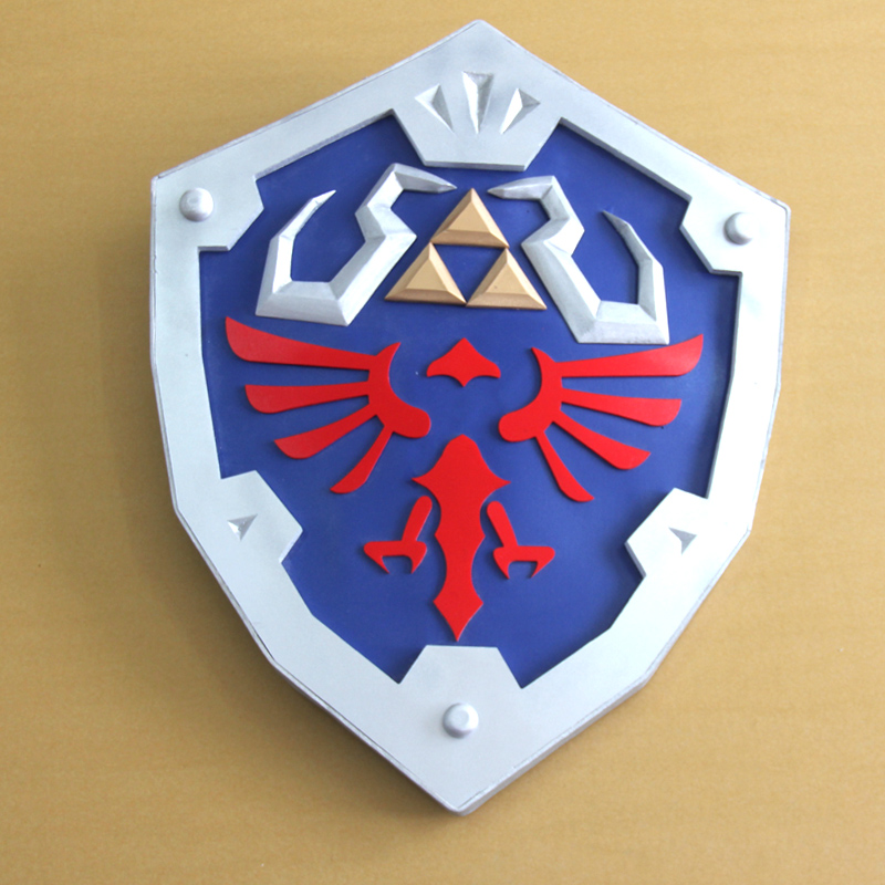 The Legend of Zelda:Skyward Sword Link Cosplay Shield Weapon Prop mp003570
