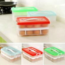 Refrigerator Storage 24 Eggs Airtight Storage plastic Box container Double Layer  Drop shipping 426