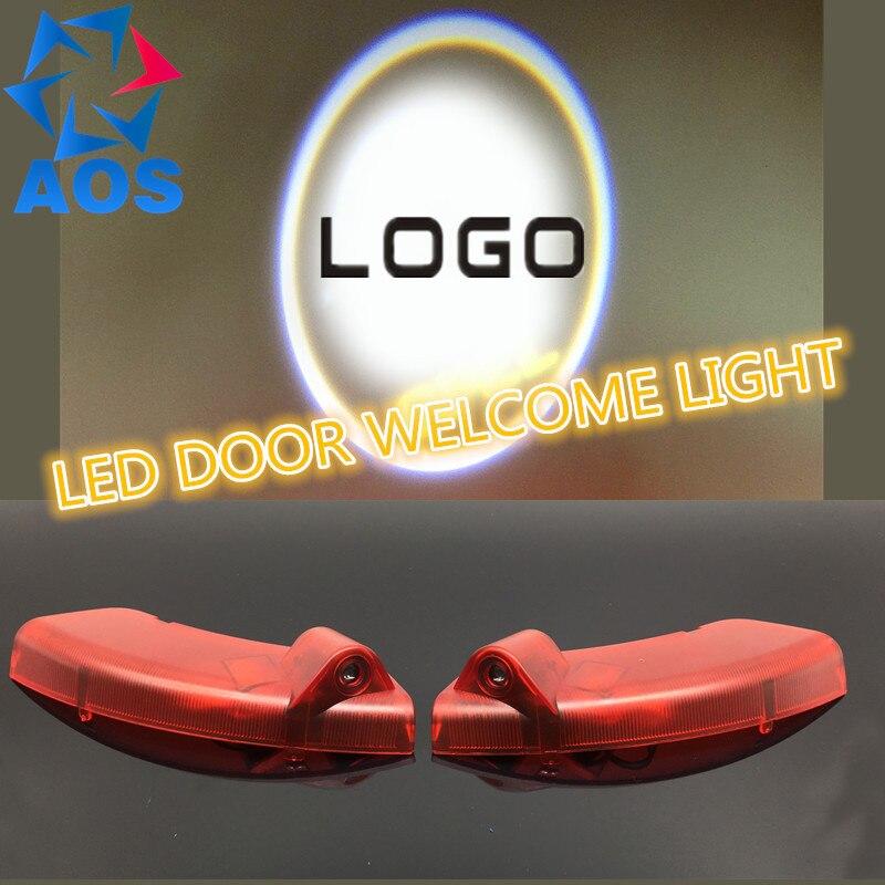 2PCs Car LED Courtesy Door Logo Projector Light Ghost Shadow Light FOR OPEL ANTARA 2008 2009 2010 2011 2012 2013