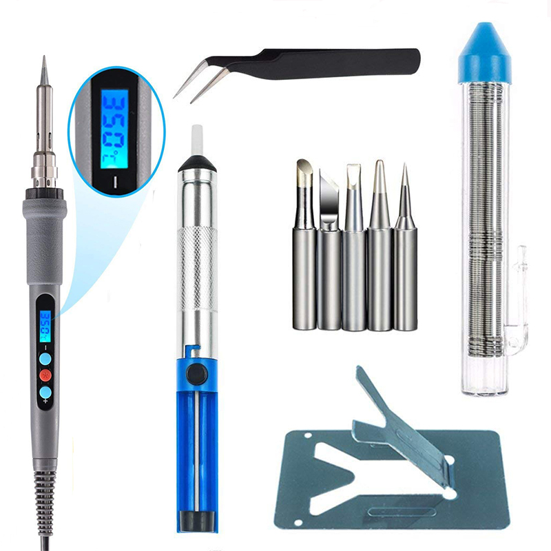 936d 220V 60W LCD Digital Soldering Iron Electric Temperature Adjustable Soldering Iron Professional Welding Tools 936d 220V 60W LCD Digital Soldering Iron Electric Temperature Adjustable Soldering Iron Professional Welding Tools