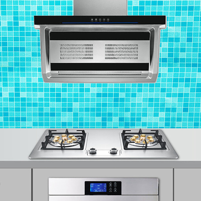 Kitchen Tools Self Adhesive Waterproof Wall stickers Wallpaper Rolls For Kitchen accessories Furniture Decoration Wall Sticker (3)