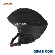 LANOVA marca profesional patinaje adultos casco de esquí casco de esquí hombre/casco patineta cascos de los deportes de nieve multicolor