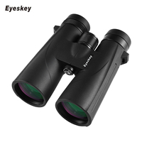 Eyeskey 10x50 Waterproof Binoculars Professional Telescope Bak4 Prism Optics Camping Hunting Scopes High Power Binoculars M32