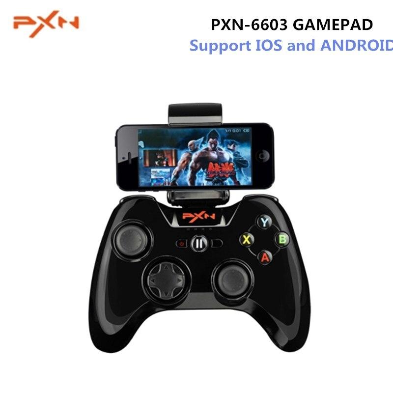 PXN-6603 MFi Gamepad Console de jeu de poche sans fil Bluetooth contrôleur de jeu Portable manette de Vibration main pour IOS