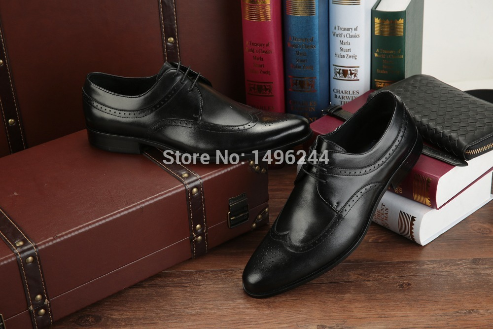 european Style real cow soft leather qshoes font b shoes b font font b mens b