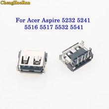 ChengHaoRan For ACER ASPIRE 5517 5232 5241 5541 4732 5516 5743Z 5532 5535 5920 6920 6930 2.0 USB Connector Plug