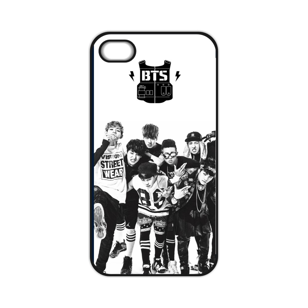 Bangtan Boys BTS Case for iPhone 4 4S 5 5S 5C SE 6 6S Plus Samsung Galaxy S3 S4 S5 Mini S6 S7 Edge Plus A3 A5 A7 Note 2 3 4 5