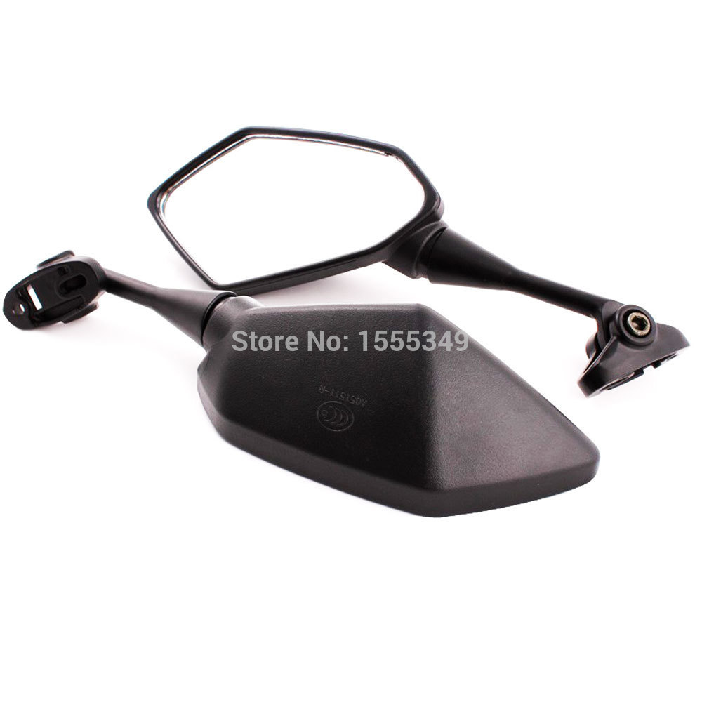 Black Rear View Mirrors Motorcycle For Honda CBR600RR CBR 600 RR 2003 2004 2005 2006 2007 2008 2009 2010 2011 CBR1000RR 04-07 motorcycle accessories cnc derby timing timer cover for harley sportster xl883 xl1200 2004 2005 06 07 08 09 2010 2011 2014 black