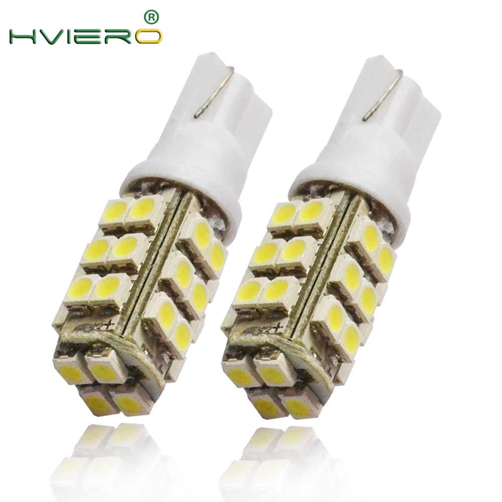 Wholesale 2X 194 168 501 Pure White Red Blue 1210 3528  28SMD 28 LED Auto Side Wide Wedge Tail Light 28SMD Bulb Lamp NEW