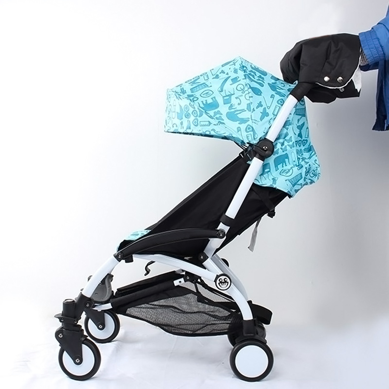 Baby Stroller Buggy Clutch Cart Warmer Gloves Pushchair Hand Muff Waterproof Pram Accessory Carriage Glove S7JN