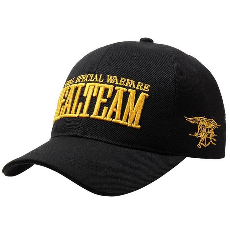 Navy Seal Team Tactical Cap Army Mens gorra de béisbol Gorras Snapback del  hueso - AROMAN.ME a7d5b42754b