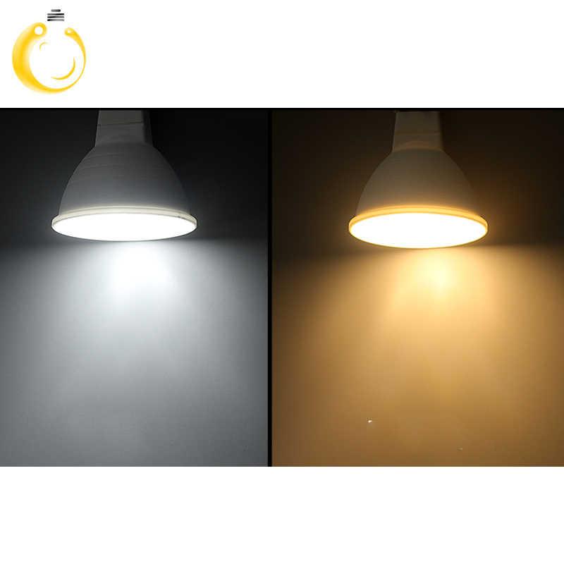 Без затемнения GU10 MR16 светодиодный лампы Spotlight 220 В 9 Вт COB Чип угол луча 120/60 Пластик Алюминий прохладное место свет Настольной потолок