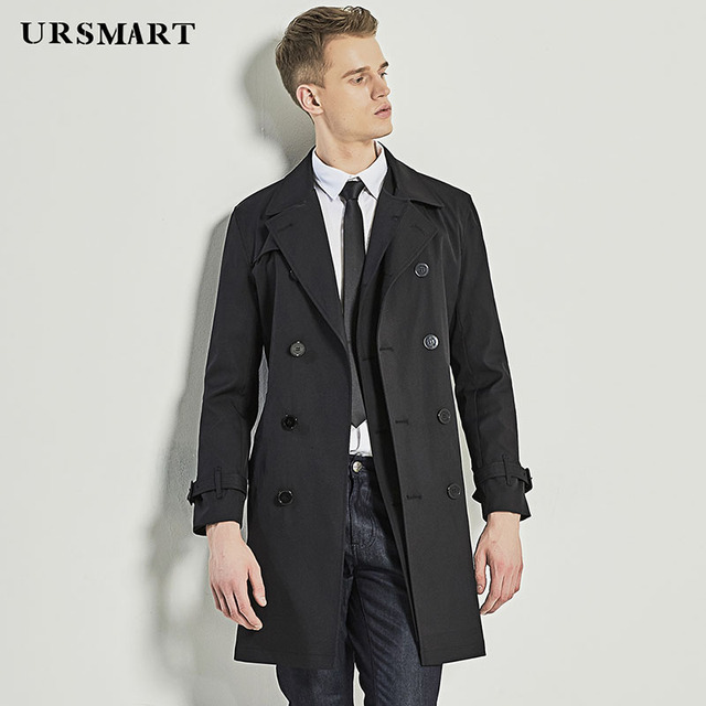 URSMART Youth Long Trench...