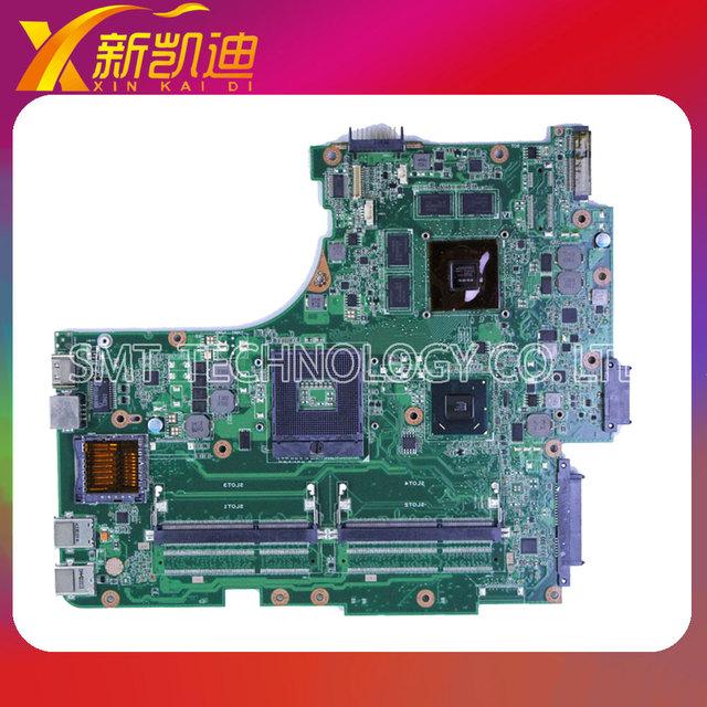 Garantía original para asus n53s n53sv n53sm n53sn rev 2.2 o 2.0 2 ram gt540m 1g placa madre del ordenador portátil mainboard