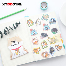 1pack/30pc Cute Dog Stickers Stationery Creative DIY Diary Scrapbook Decoration Sticker Pack Kawaii Papeleria