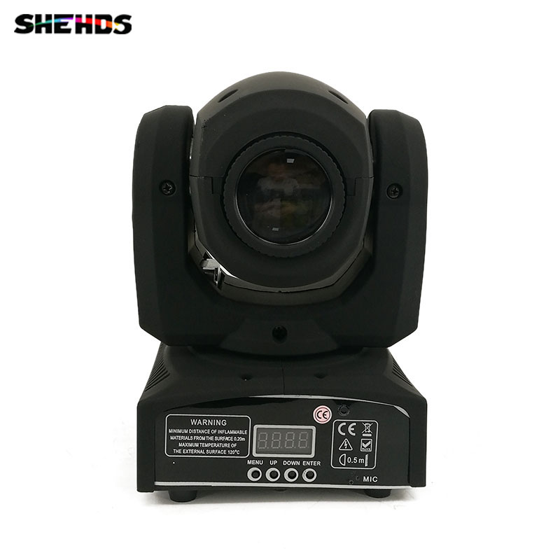 8pcs/lot DMX Stage LED Spot Gobo Moving 8/11 Channels 9 gobos stage lighing LED 30W Moving Head Free Shpping
