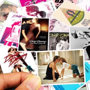 Image 2 - 25 قطعة/الوحدة ملصقات من كلوريد متعدد الفينيل للرقص على لوح التزلج الخاص بالكمبيوتر المحمول ملصقات للأمتعة والدراجات النارية