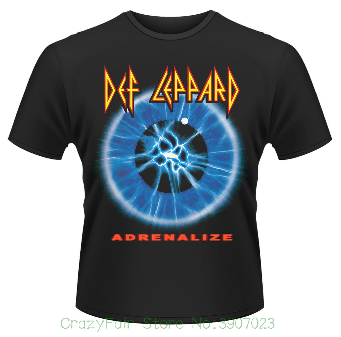 Def Leppard adrenalize T-shirt - Nuevo Y Oficial Funny Tee Shirt Hipster Summer