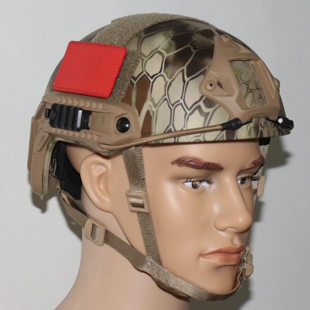 VILEAD Airsoft Lightweight FAST Base Jump Helmet MH Type Military Tactical Helmet Pararescue Jump Helmet Helmets Four Colours