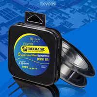 Mainboard Maintenance Silver Fly Line 0.009mm x 200m For iPhone Fingerprint Repair Mending Flight Line flyline tool