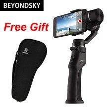 3 оси ручной карданный электронный для смартфонов стабилизатор для телефона экшн-камеры Anti-Shake Bluetooth APP палка для селфи