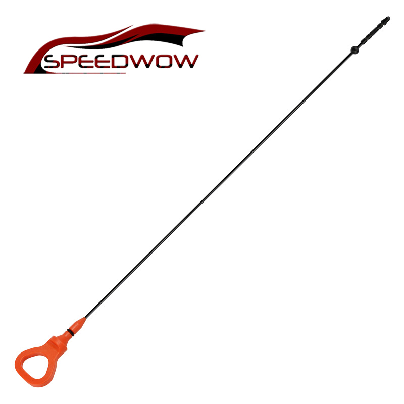 SPEEDWOW 750mm Car Engine Oil Dipstick For Audi 3.0 Engine Oil Fluid Dipstick Motor Level