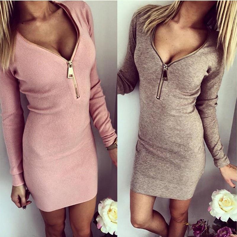 1 piece long dress zipper