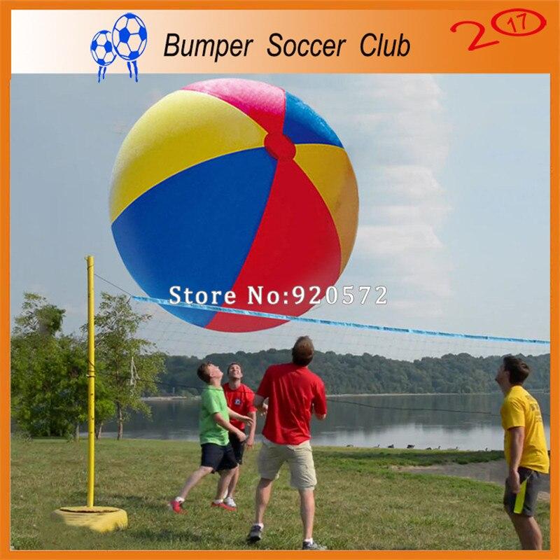 Бесплатная доставка! 1,5 м надувной мяч пляжный игрушки для игр на воде гигантский открытый Праздничная игрушка шары для продажи