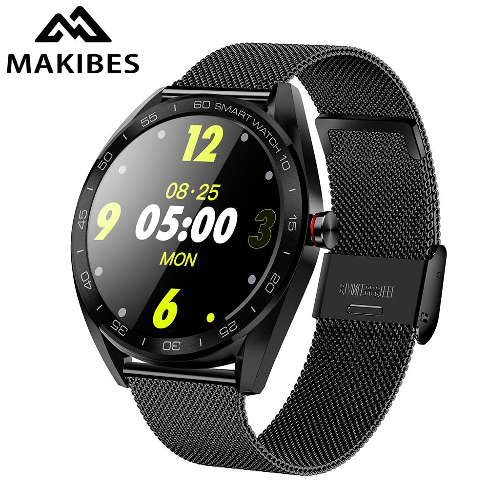 New Makibes K7 Smart Watch 1.3 IP68 Waterproof Bluetooth Heart Rate Monitor Fitness Tracker Sports Smartwatch For Android iOSNew Makibes K7 Smart Watch 1.3 IP68 Waterproof Bluetooth Heart Rate Monitor Fitness Tracker Sports Smartwatch For Android iOS