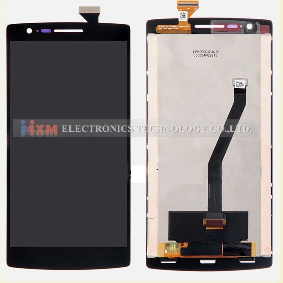 ФОТО 100% Guarantee Tested Perfect For Oneplus one LCD Display Touch Screen sensor For Oneplus One 1+ A0001 digitizer free shipping