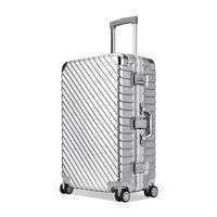 20 25 29 дюймов Алюминий сплава рама деловой поездки чемоданы и дорожные сумки чемодан кабина koffer maletas ручной клади