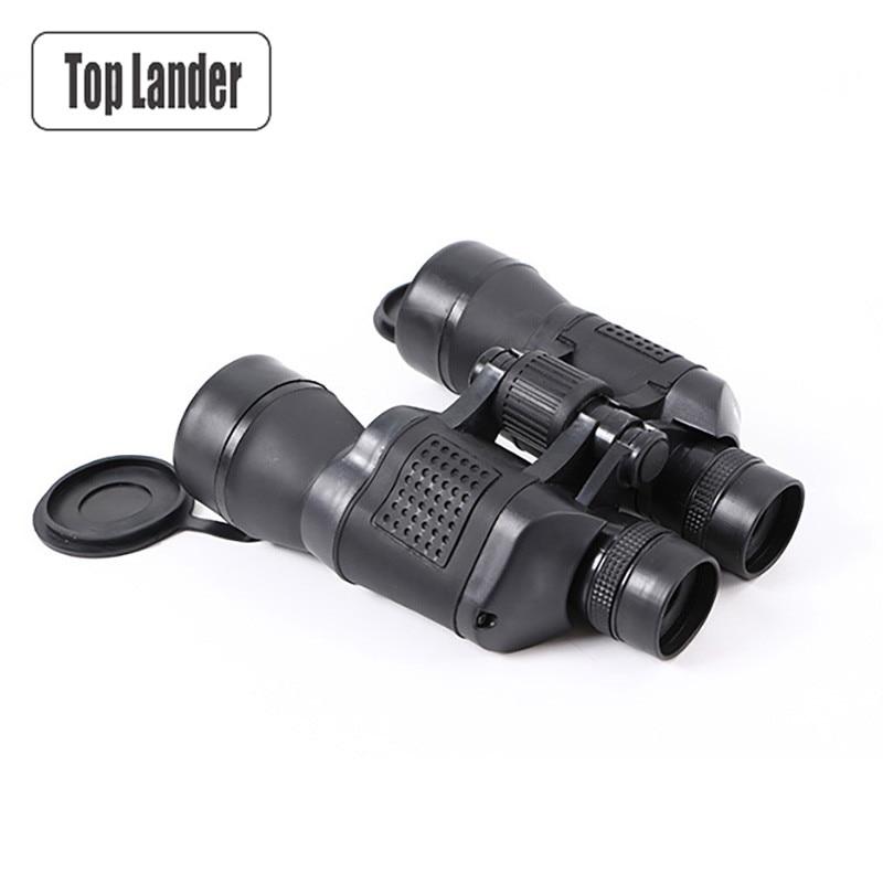 лучшая цена Powerful Binocular for Hunting Russian Military 10x50 Waterproof High Power Zoom Optical Professional Binoculars Night Vision