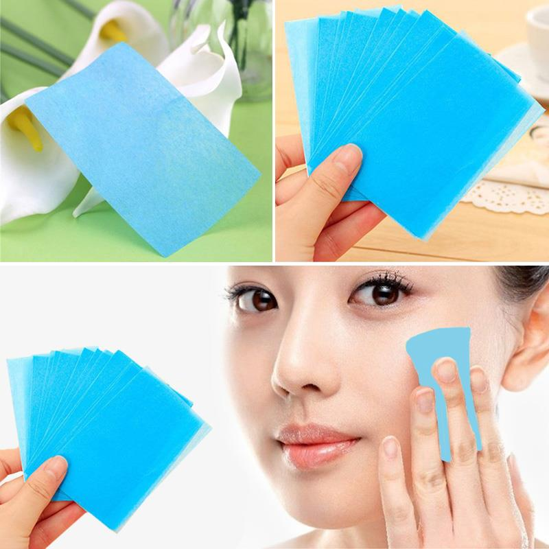 50 Oil Absorbing Paper Facial Tissue Face Tools Powerful Makeup Cleaning Cosmetic Beauty Girls Hot sale