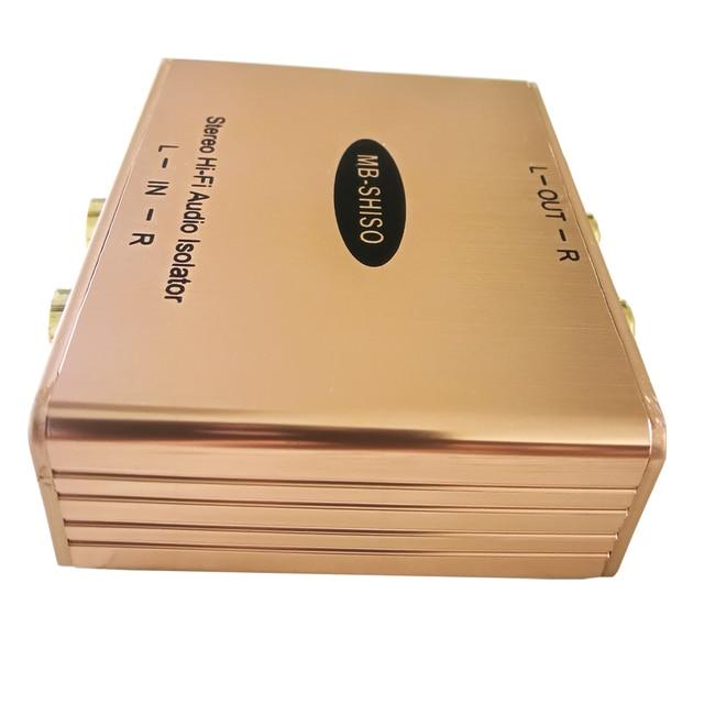 Cheap Car RCA Amplifier Audio Noise Filter Stereo Hi-Fi Audio Noise Killer