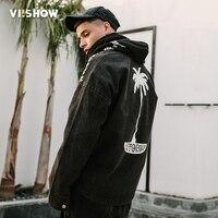 VIISHOW Quân Jacket Nam Thời Trang Thương Hiệu Quần Máy Bay Ném Bom Jacket Men Casual Men Hip Hop Đi Đường Mens Áo Jacket và Áo Khoác JC1021181