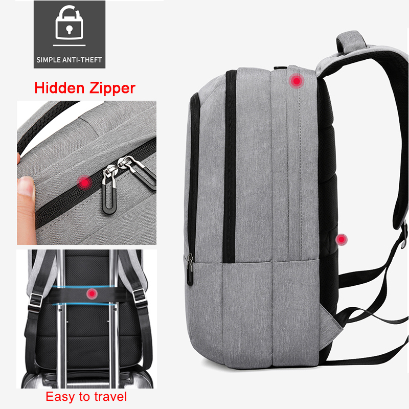 USB Charging Large Capacity Travel Backpack 2