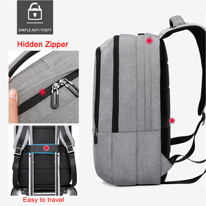 "Image 4 - KAKA Casual Men Backpack USB Charge Large Capacity Travel bag 15.6"" Laptop Backpack schoolbag for teens mochila women back pack"