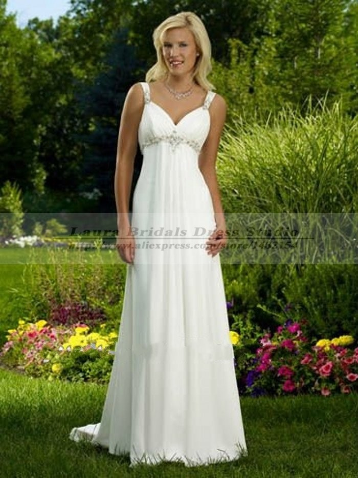 Vestido De Noiva 2015 Vintage Sexy Boho Beach Wedding Dress Chiffon Cheap  Country Style Hippie Wedding Dresses Vestidos De Boda In Wedding Dresses  From ...