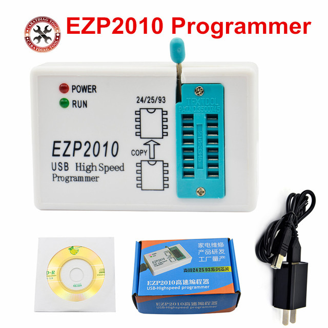 US $10 93 5% OFF|2018 New Arrival EZP2010 high speed USB SPI Programmer  support24 25 93 EEPROM 25 flash bios chip Free Shipping -in Auto Key
