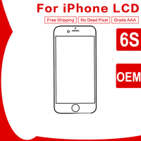 5Pcs No Dead Pixel OEM LCD Screen For Apple IPhone 6S Grade AAA LCD Display With