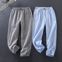 Pajamas for Women Underwear Pijama Mujer Unisex Home Pants Men Cotton Sleepwear