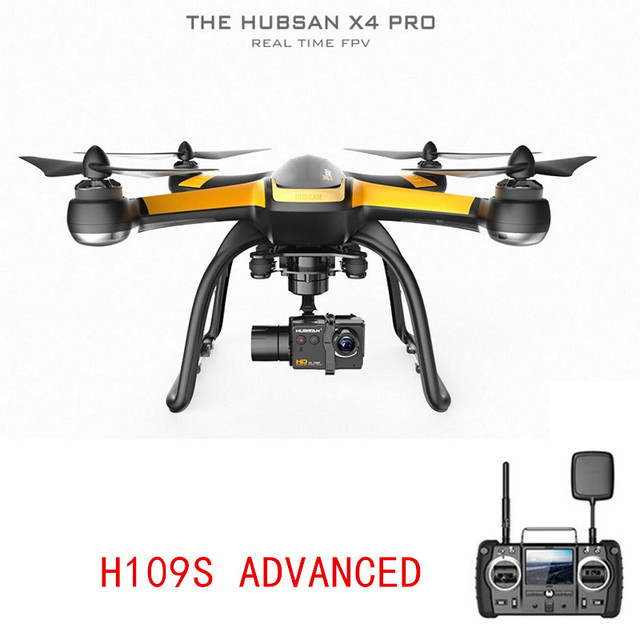 Medium Edition Hubsan H109S X4 PRO ADVANCED 58G FPV Drone GPS Quadcopter With