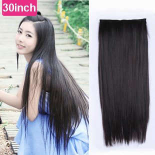 Free shipping super long 30inch synthetic 5 clip in hair extension free shipping super long 30inch synthetic 5 clip in hair extension blacklight pmusecretfo Choice Image