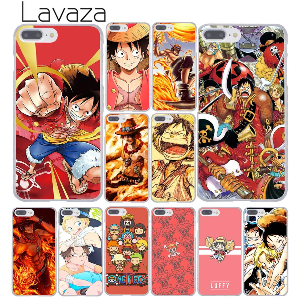 Lavaza One Piece Portgas Monkey Luffy Sabo zoro Hard Coque Shell Phone Case for Apple iPhone 8 7 6 6S Plus X 10 5 5S SE 5C 4 4S