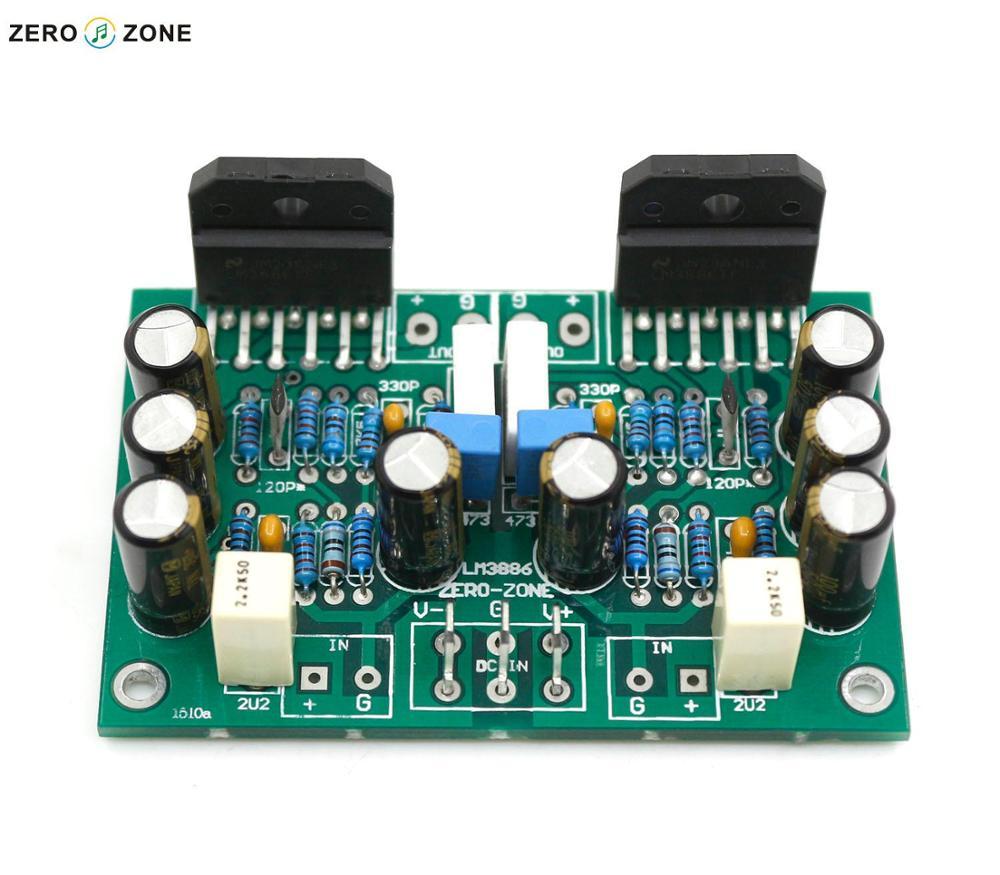 Dinamis Gzlozone Rakitan Lm3886 Stereo Papan Amplifier Murni Rangkaian Umpan Balik Di Dari Elektronik Konsumen Aliexpresscom Alibaba Group